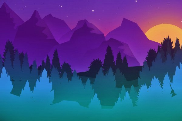 Minimalist Colorful Wallpaper