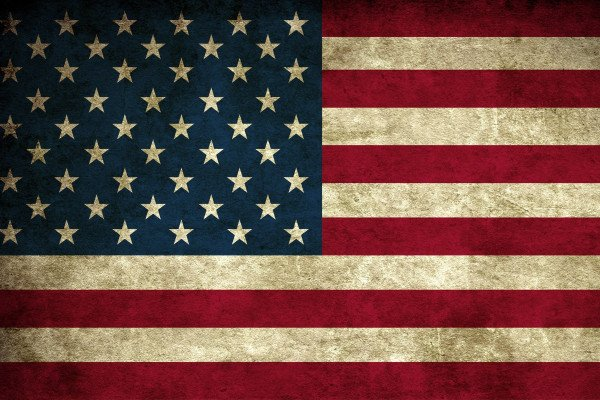 Patriotic American Flag Wallpaper