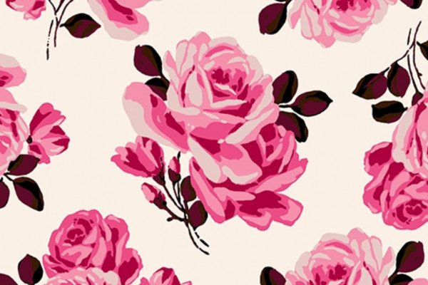 Girly Pattern Wallpaper